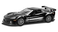 Модель легкового автомобиля - Chevrolet CORVETTE, Uni-Fortune, Черный (554003-2)
