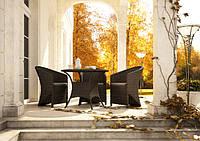 Набор мебели ФиЛдо ФО - коричневый - мебель из искусственного ротанга - мебель для веранды