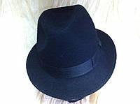 Мужская  шляпа из фетра  средние  поля