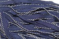 Кант текстильный (50м) т.синий+бежевый , фото 1