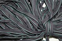 Кант текстильный (50м) т.серый+мор.волна+белый