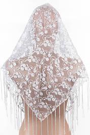 Платки гипюровые свадебные