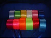Лента атласная (ширина 5 см) (цвета в ассортименте)
