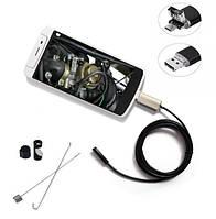 Цифровой USB эндоскоп 2in1  1м