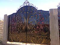 Кованые ворота Одесса