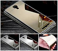 Силиконовый зеркальный чехол для Xiaomi Redmi Note 2