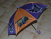 Зонт трость для мальчика(витринный вариант)