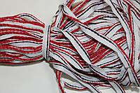 Кант текстильный (50м) белый+красный+т.синий, фото 1
