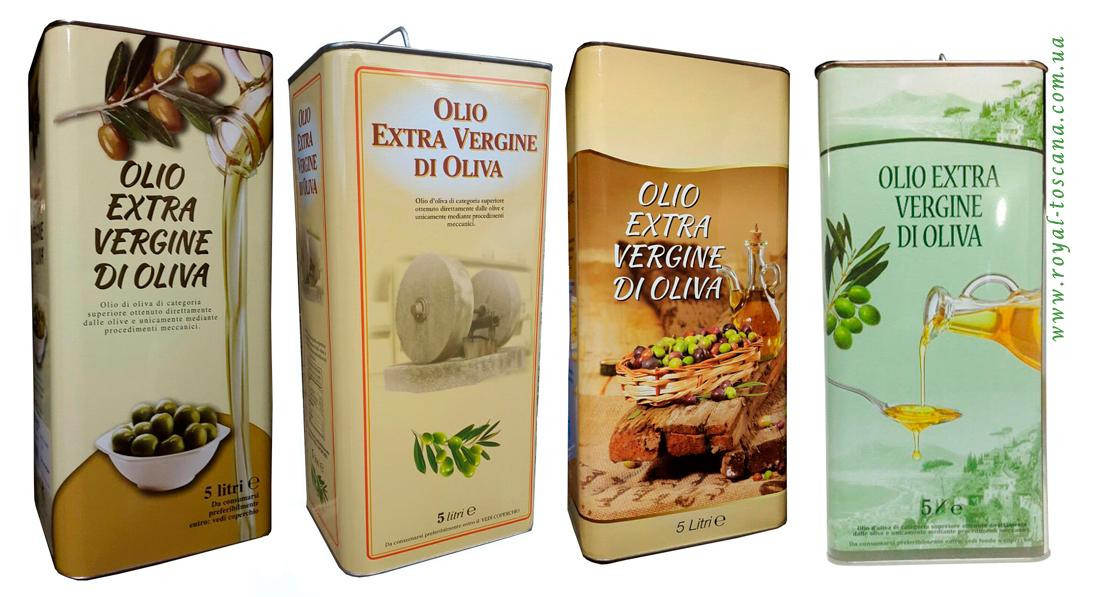 Оливковое масло Olio Extra Vergine Di Oliva 5л Италия - Камора - магазин вкусных продуктов в Днепре