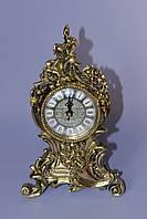 """Часы из бронзы """"Цветок"""""""