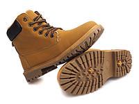 Бежевые ботинки на зиму  размер 38,40