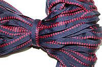Кант текстильный (50м) т.синий+красный