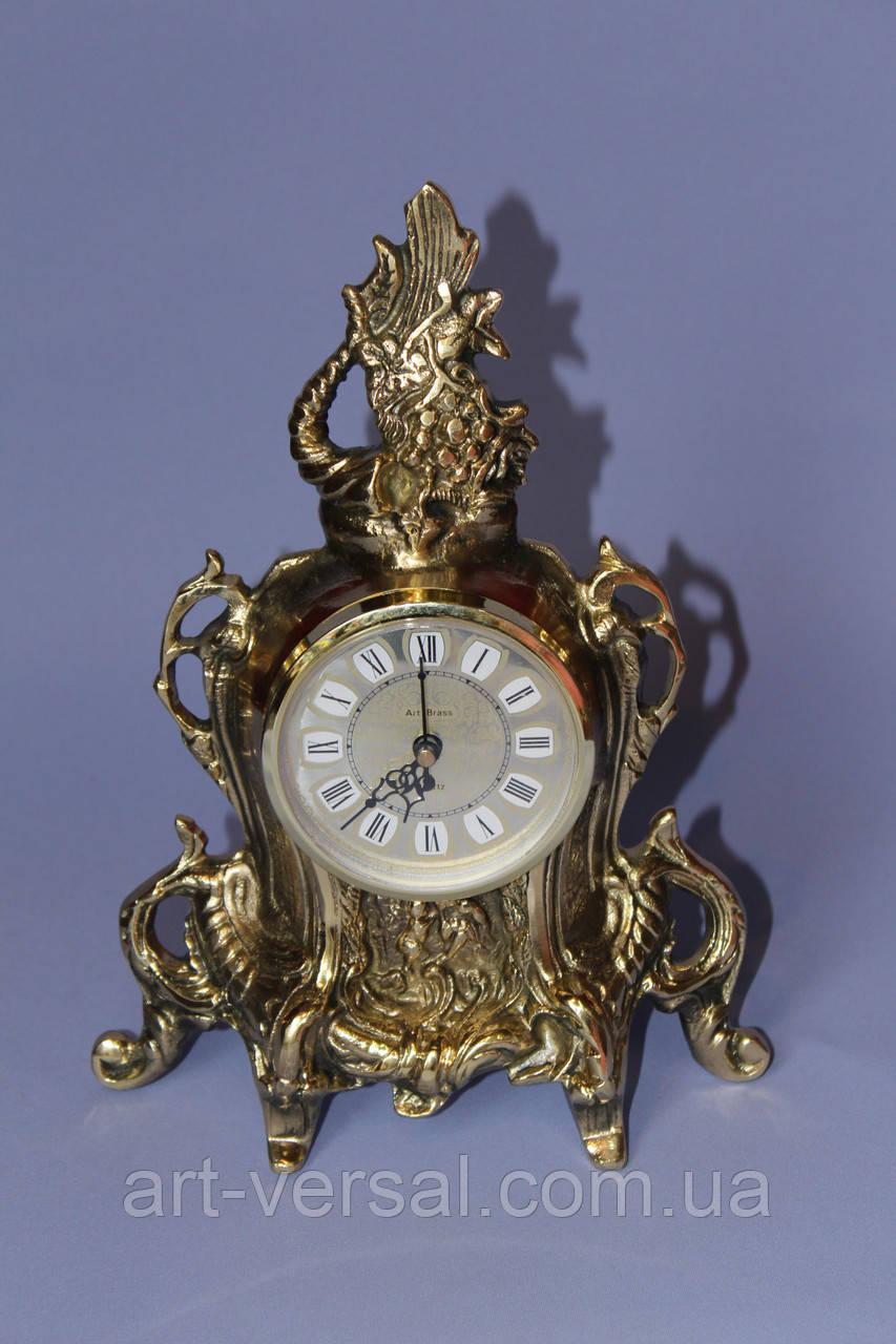"Часы кабинетные ""Корал"" бронза"