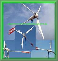 Вітрогенератори FLAMINGO AERO 4.4 (1.6 кВт) з інвертором 5 кВт і АКБ
