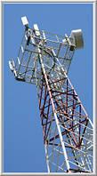 Радиомачты сотовой и радиорелейной связи высотой 10-70 м