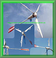 Ветрогенераторы FLAMINGO AERO 9.0 (8.0 кВт) с инвертором 10 кВт и АКБ