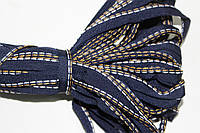 Кант текстильный (50м) т.синий+беж+белый, фото 1