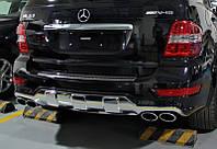 Насадки AMG на выхлопные трубы Mercedes ML-class W164