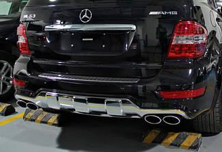 Насадки AMG на вихлопні труби Mercedes ML-class W164