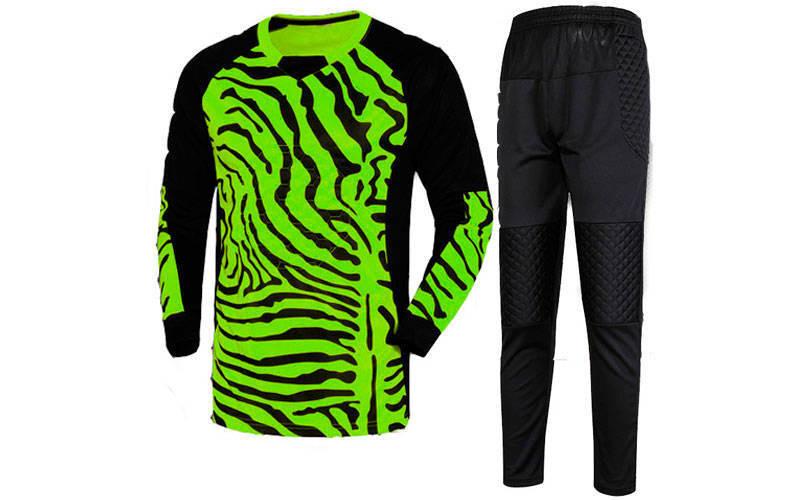 Форма футбольного воротаря юніорська CO-0233-G салатова з чорним