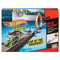 Трек Хот Вилс Hot Wheels Zip Rippers Rip-Up Raceway Track Молния-потрошитель, фото 1