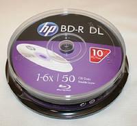 BD-R (Blu-Ray) НР 50Gb 6х Double layer, Cake 10