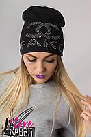 """Женская шапка """"FAKE"""" №27-005"""