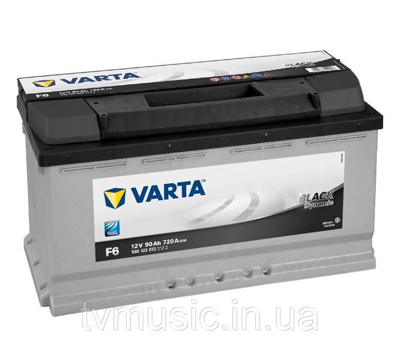 Аккумулятор Varta Black Dynamic F6 90Ah 12V (590 122 072)