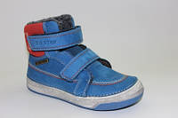 Зимние кожаные ботинки для мальчиков ТМ DDStep 25,27,30р.