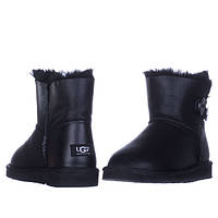 Женские UGG MINI BAILEY BUTTON LEATHER VO-94