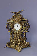 """Часы """"Хранитель времени"""" из бронзы"""