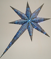 Звезда LED голубой односторонние