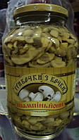 Грибы Шампиньоны стерилизованные Грибоски с Бочки 1380 г 908576
