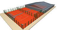 Разработка концепций, консультации, рекомендации по строительству кортов,  спортплощадок