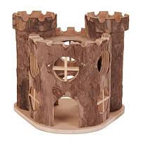 """Домик для грызунов """"Замок"""" 15 х 11 х 14 см."""