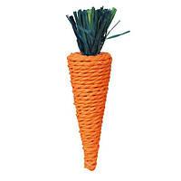 """Игрушка для грызунов """"Морковь"""" 20см"""