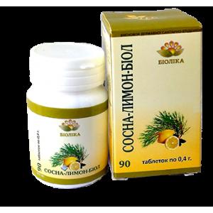 Сосна+лимон-биол табл. (90 шт.)