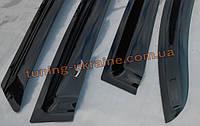 Дефлекторы окон HIC на Peugeot 206 1998-12 4-ти дверный