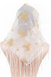 Белые свадебные платки