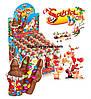 Шоколадная фигурка Дед Мороз с сюрпризом 24 шт, 60 г (ANL)