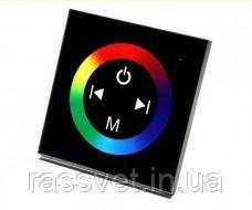 Контроллер RGB12A Touch Black Встраиваемый