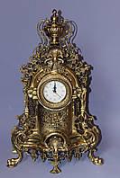 """Часы  """"Барокко"""" из бронзы"""