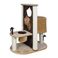 """Домик для кошки """"Amelia"""", 51х93х80см, плюш, коричневый/беж."""