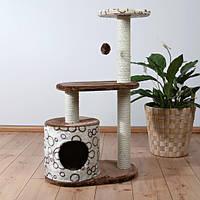 """Домик для кошки """"Casta"""", 95см., коричневый/беж."""