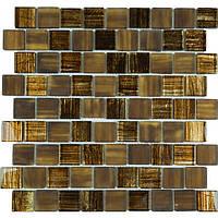 Мозаика мрамор стекло Vivacer DAF105