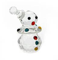 Фигурка хрустальная Снеговик