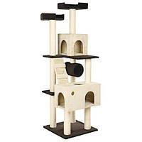 """Домик для кошки """"Mariela"""", 176 см, коричневый / бежевый"""