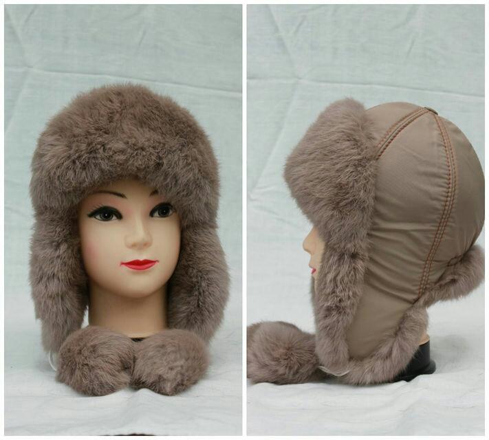 Детская зимняя шапка ушанка