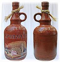 Декоративная бутылка Хреновуха, оригинальный подарок мужчине на новый год или день рождения