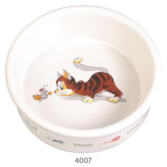 Миска керамическая для кошки 200мл / 11,5см
